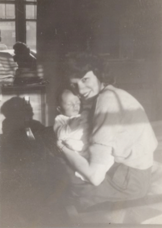 Mom and Me March 1951